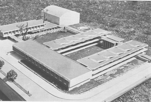 Maqueta del edificio de Secundaria