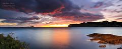 Arde Ogoo ( Mundaka ) (saki_axat) Tags: seascape sunrise pano mundaka izaro urdaibai ogoo canonikos