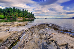 Waiting for my Real Life to Begin (Northern Straits Photo) Tags: summer canada beach nature water beautiful landscape sandstone sailing bc britishcolumbia awesome vancouverisland shore sail top10 elliotbay ladysmith northernstraitsphotography