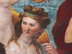 Raphael, Galatea, detail with Abducted Nymph