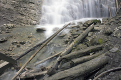 Margarget Falls. Salmon Arm, BC (Silent Images Photography) Tags: park longexposure trees canada nature water forest river waterfall scenery rocks stream bc britishcolumbia logs trail canon60d canonefs1855mmf3556is