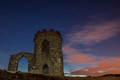 Bradgate Park Star Trails (philipJvernon (www.philipJvernon.co.uk)) Tags: park uk blue light england sky hot cold color colour night clouds dark painting photography star j amazing cool paint pretty photographer leicestershire britain sony leicester flash trails vernon philip bradgate philipjvernon