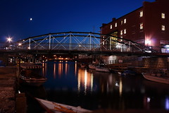 """Commercial Slip Bridge Night 4 • <a style=""""font-size:0.8em;"""" href=""""http://www.flickr.com/photos/59137086@N08/7842158932/"""" target=""""_blank"""">View on Flickr</a>"""