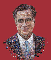 Mitt Romney for Huffington Magazine (tsevis) Tags: art collage illustration digital computer magazine design graphicdesign pattern mosaic portait experiment photomosaic cover journalism gop studioartist republicanparty presidentialelections mittromney visualdesign huffingtonpost tsevis mozaix charistsevis wwwtseviscom tseviscom mosaicimagesbytsevis