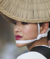 AWA ODORI (ajpscs) Tags: street summer portrait girl face festival japan asian japanese tokyo nikon asia dancers culture streetphotography  ren nippon  tradition  matsuri obon awaodori   d300 koenji   awadance koenjiawaodori  ajpscs  thedanceofthefools    aoishinren bonfestivities tokyokoenjiawaodoridancefestival mygearandme lastfestivalofsummer