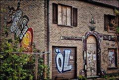 Urban Dark - Urbex et Street art  ... Doel en Belgique . (Dubus Laurent) Tags: street portrait urban house building art home station architecture landscape graffiti paint village belgium belgique tag explorer hangar tags dessin peinture route abandon urbanexploration villa ghosttown paysage exploration maison rue antwerpen zone ville anvers manoir vide urbain artiste urbex artistique habitation peintre urbaine interdit cass bris doel flamand flandre villefantme explorationurbaine dendoel
