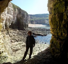 north landing caves (deadmanjones) Tags: caves cave flamborough seacaves northlanding flamboroughzjlb