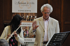 Avison Ensemble: Benjamin Zander music interpretation workshops, Day 1, Monday 13 August 2012, Kings Hall, Newcastle University (Avison Ensemble) Tags: charles avison ensemble ben benjamin zander art possibility newcastleupontyne newcastle university kings hall workshop interpretation interpreting classical composer composers music transformation transformative inspire inspiring inspirational expression young musicians players performers performance performing listening listeners instruments violin viola cello strings clarinet oboe flute recorder guitar voice soprano alto tenor bass piano amateur professional children child kid kids boy boys girl girls adult adults outreach inclusion inclusive teacher teachers teaching teach learning learn tries trying education educational