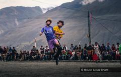 Football Festival in Karimabad, Hunza (8000 ft./ 2440 m) (Hasan Zubair Bhatti) Tags: travel blue mountain sports festival canon football action hunza karimabad gilgit hasan zubair baltistan bhatti