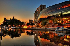 ottawa (Rex Montalban Photography) Tags: night reflections canal ottawa hdr nationalgeographic photomatix nikond7000 rexmontalbanphotography
