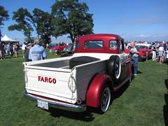 Fargo (Hugo-90) Tags: auto show classic car truck antique britishcolumbia pickup surrey event vehicle dodge crescentbeach concours meet fargo delegance blackiespit
