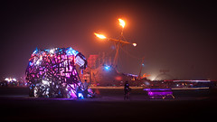 Burning Man 2012 - Breaking Wave - La Llorona (extramatic) Tags: usa nv blackrockcity breakingwave lallorona burningman2012fertilityblackrockcitydesertfireartplaya burningman2012fertilityblackrockcitydesertfireartplayaflameburnmanbrceventbm12desertfestivalextramaticzzz