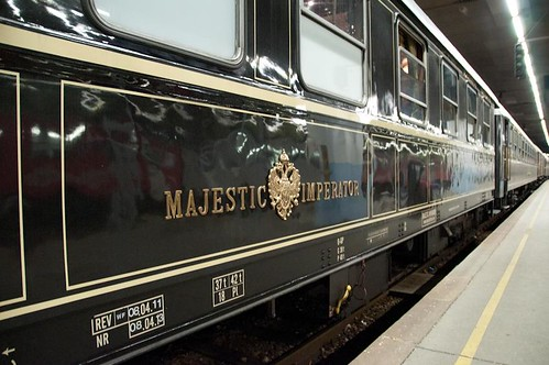 Majestic Imperator Luxury Train at platform