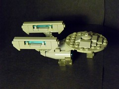 Enterprise- A (Legonardo Da Bricki) Tags: trek star lego da enterprise bricki legonardo