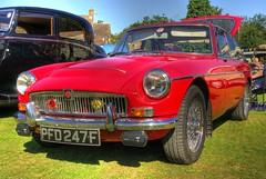 MG (Si Oliver Photography) Tags: show classic car vintage village pentax fair goose mg event chrome hdr alloy photomatix challock k10d flickrnova