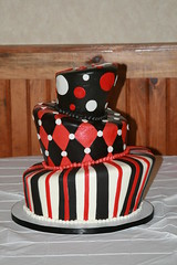 "Topsy turvy grooms cake • <a style=""font-size:0.8em;"" href=""http://www.flickr.com/photos/60584691@N02/7977182013/"" target=""_blank"">View on Flickr</a>"