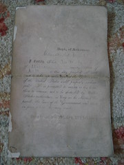 "Arkansas confederate parole document • <a style=""font-size:0.8em;"" href=""http://www.flickr.com/photos/51721355@N02/7983476462/"" target=""_blank"">View on Flickr</a>"
