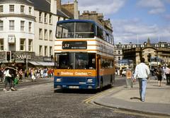 tayside - strathtay sm15 dundee spring 91 JL (johnmightycat1) Tags: bus scotland strathtay