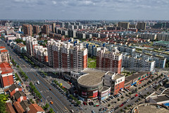 Pudong area, Shanghai, PR China (Andr Vogelaere - ) Tags: china city house home skyline cityscape apartment shanghai flat aerialview highrise prc pudong lachine birdseyeview condominium stad chine peoplesrepublicofchina