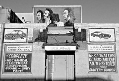 Drive My Car (Tyler Merbler) Tags: california usa car losangeles mural beatles johnlennon ringostarr paulmccartney georgeharrison