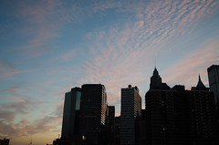 1462 Dusk (JoelZimmer) Tags: sunset newyork manhattan financialdistrict brooklynbridge 24mmf28 nikond7000