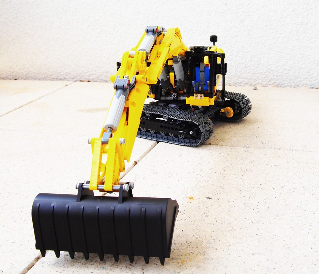 lego 42000 motorized - photo #17