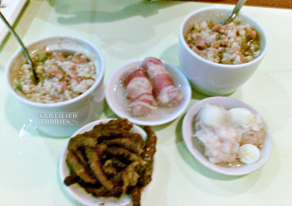 Steamed Rice and dimsum from Harbour City - photos from 2008