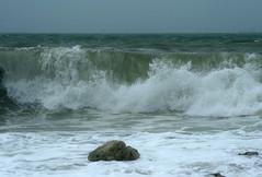 Wave 1 (FreshAirFreak) Tags: ocean sea beach water cornwall surf wave spray atlantic foam loebar porthleven