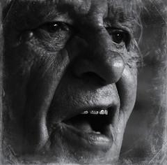Face without Words No.1 (chromik) Tags: portrait bw man men face s mann photoart mnner visage gesichter blackwhitephotos chromik dchro bwportraitphotos