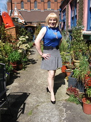 Enjoying The Day (rachel cole 121) Tags: tv transvestite transgendered tgirl crossdresser cd