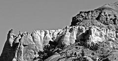When nature speaks BW (SCFiasco) Tags: grandescalante nps nationalparkservice escalante rock promontory formation peak butte scfiasco siasoco edsiasoco blackandwhite monochrome outdoor ut utah