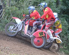 Mortimer July 2016 - S/C Race Three/1 (ericmiles47) Tags: mortimerclassic mxsidecar pelling hedges jenkins