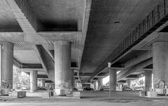 Unter der (Autobahn)Brcke (JohannFFM) Tags: autobahn brcke atobahnbrcke