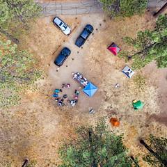 Laguna Campground - Site 10 (Chad McDonald) Tags: drone dji phantom3 aerial lagunacampground mountlaguna camping tent msr interesting