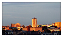 Golden city... (PAUL Y-D) Tags: sunset golden city plymouth tallbuildings