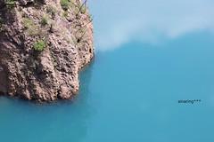 (ainaring***) Tags: dam bleu blue lake    japan canon