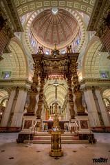 Cathédrale Marie-Reine-du-Monde, Montréal (yravaryphotoart.com) Tags: cathédralemariereinedumonde yravaryphotoartcom yravaryphotoart canon canonefs1022mmf3445usm canon7d hdr cathédrale basilique église church montréal wow