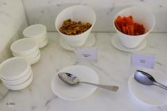 Nuts and nachos (A. Wee) Tags: cathaypacific  thebridge  lounge hongkong hkg    china nut nacho