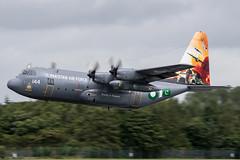 64144 / Pakistan Air Force / Lockheed C-130E Hercules (Charles Cunliffe) Tags: canon 7dmkii aviation raf fairford egva ffd pakistan air force paf lockheed c130e hercules c130 64144
