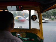 . (S_Artur_M) Tags: india indien travel reise delhi rickshaw autorickshaw panasonic lumix tz10