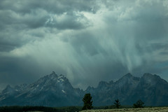 Stormy Day on the Tetons (rich wich) Tags: stormy teton