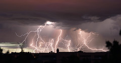 Lightning  composite (northern_nights) Tags: lightning composite santafe newmexico longexposure 100v10f