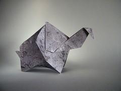 Elephant - Richard L. Alexander (Rui.Roda) Tags: origami papiroflexia papierfalten elefante elephant richard l alexander