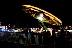 DSC02277 (Moodycamera Photography) Tags: canadiannationalexhibition cne toronto ontario nightphotography rides slowshutterspeed long exposurerlights ferriswheel swing turning twisting spining amusment horse hdr