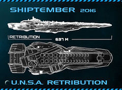 UNSA Retribution SHIPtember 2016 (ZEO CMF) Tags: shiptember ships wip lego lego callofduty cod infinite warfare unsa retribution xbox ps4 pc