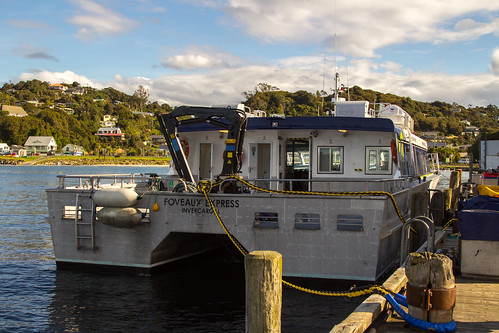 Ferry from Stewart Island to Bluff