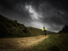 Run From The Storm (Richard Walker Photography) Tags: landscape mountainbiking cycling clouds landscapephotography peakdistrict storm people mountains sky