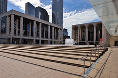 Plaza Perspective (Eddie C3) Tags: newyorkcity upperwestside manhattan lincolncenterplaza lincolncenterfortheperformingarts
