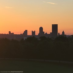 Last Sunset of Summer '16 (FourOneTwo Photography) Tags: pittsburgh sunset summer summer16 city cityskyline urban urbanex urbanromantix lovepgh pgh 412 schenleypark fouronetwophotography