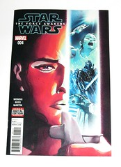 marvel star wars episode VII the force awakens issue 4 november 2016 comic (tjparkside) Tags: star wars force awakens comic book marvel 2016 issue four 4 wendig ross martin rey scavenger jakku finn fn 2187 fn2187 staff millennium falcon han solo maz kanata takodana encounter comics books direct edition digital download ep episode 7 seven tfa nov november luke skywalker jedi kylo ren knight knights lightsaber lightsabers sith child unkar plutt astromech droid droids r2d2 r2 d2